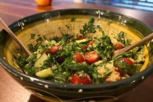 Köstliches Quinoa-Taboulé. Einfach, lecker und erfrischend!
